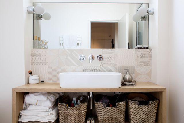 1000 id es sur le th me grands miroirs de salle de bains - Grand miroir salle de bain ...
