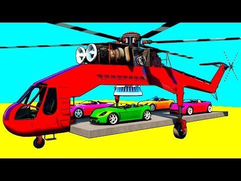 Oyuncak arabalar - Acil durum araçları - Ambulans, çekici ve itfaiye arabası iş başında - YouTube