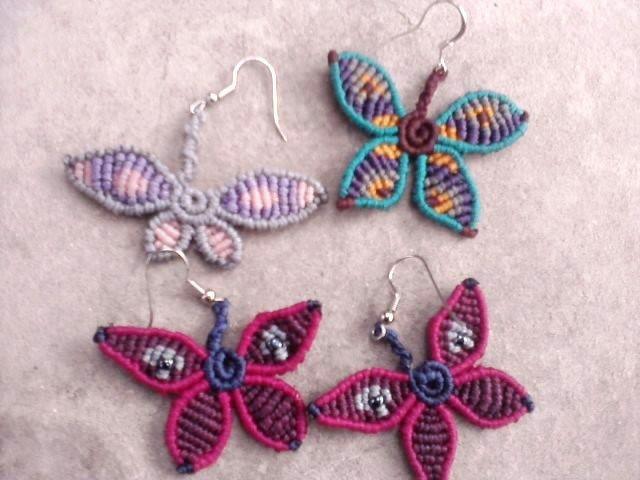macrame butterflies