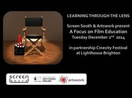 This Film Education day is taking place at the Lighthouse Brighton, it is in partnership with the Cinecity Festival and delivered by Screen South on behalf of Artswork, the South East Bridgeorganisation. We will also be joined by Into Film, the new BFI backedorganisationfor film and young people who are leading a unifiedprogrammefor watching, making and learning about film. (2 Dec 2014)