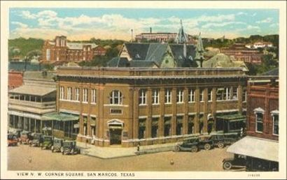 san marcos tx square historical pictures | San Marcos Texas Travel, History, San Marcos Hotels.