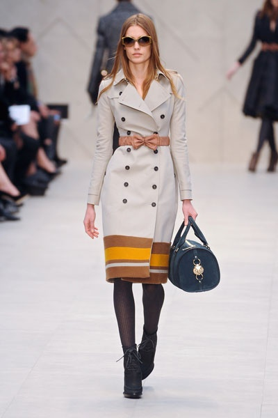 Automne-hiver 2012-2013: Burberry