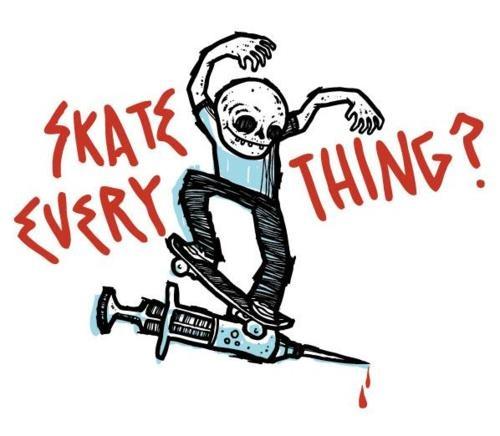 Skateboard Art And Heavy Stuff