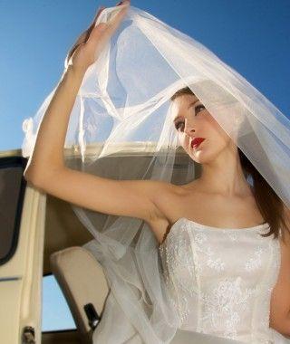 Veragioia Abito da sposa NINFEA 100% Made in Italy