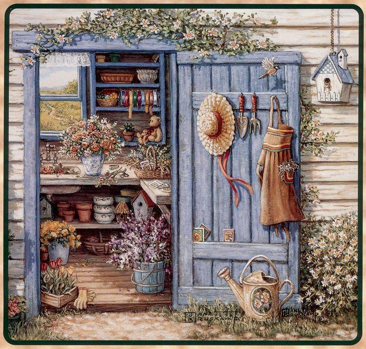 Очаровательный календарь садовода :)