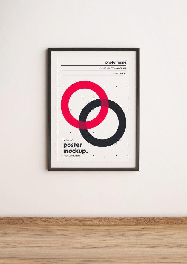 Download Vertical Framed Poster Template Mockup Hanged On Wall For Free Poster Frame Poster Mockup Psd Poster Mockup