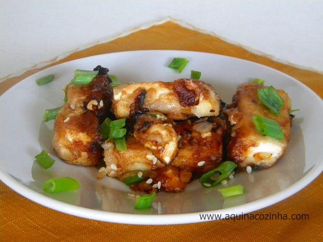 Tofu Frito | Blog Aqui na Cozinha |