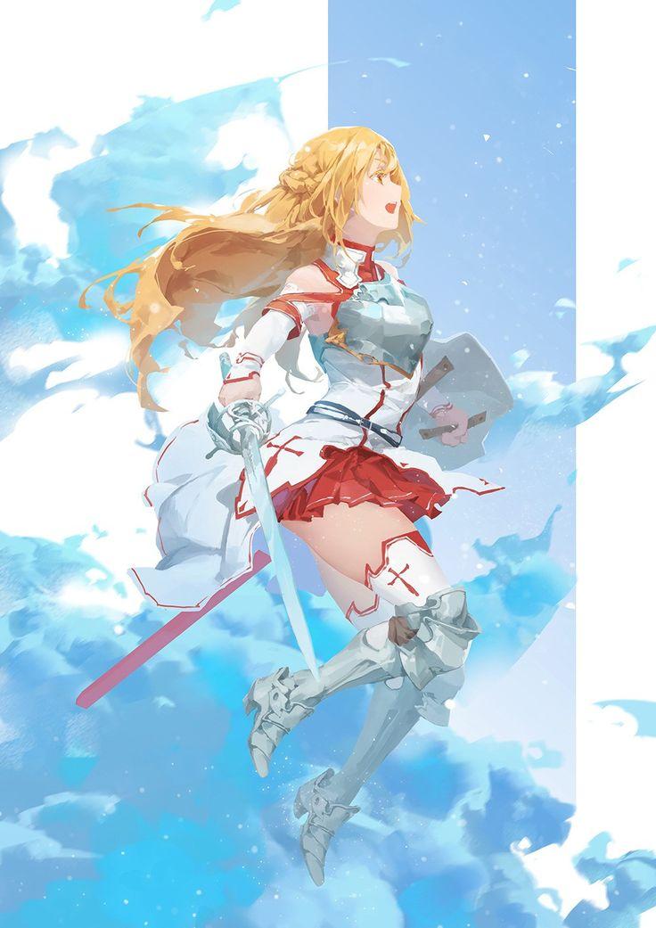 Pin by Tanya Mccuistion on anime and manga Sword art