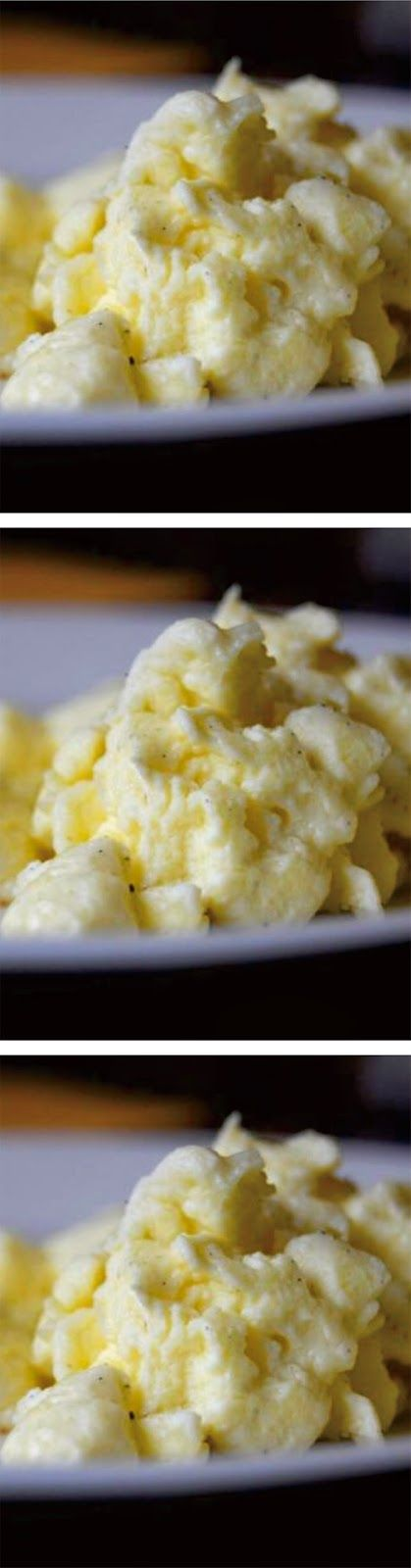 Allrighty then Scrambled Eggs ~ I saw this on Paula's Home Cooking and had to share! Allrighty then!