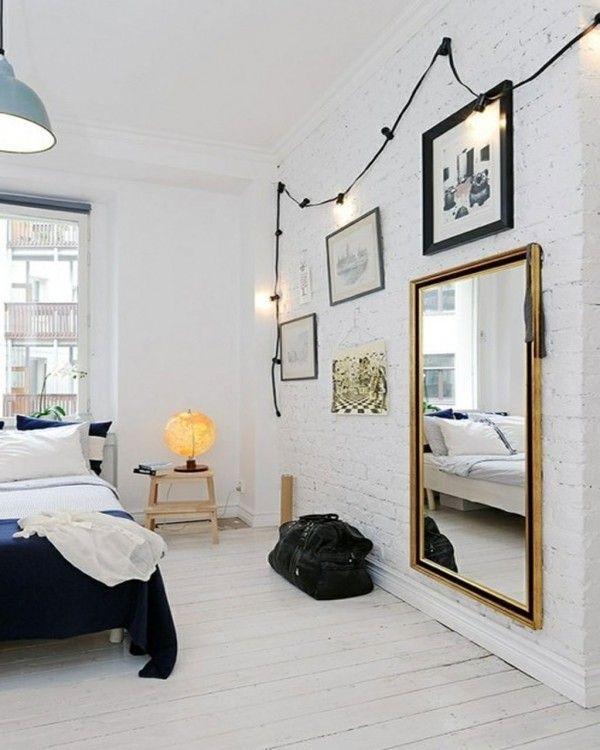 Фотография: Спальня в стиле Скандинавский, Интерьер комнат, спальня в скандинавском стиле – фото на InMyRoom.ru