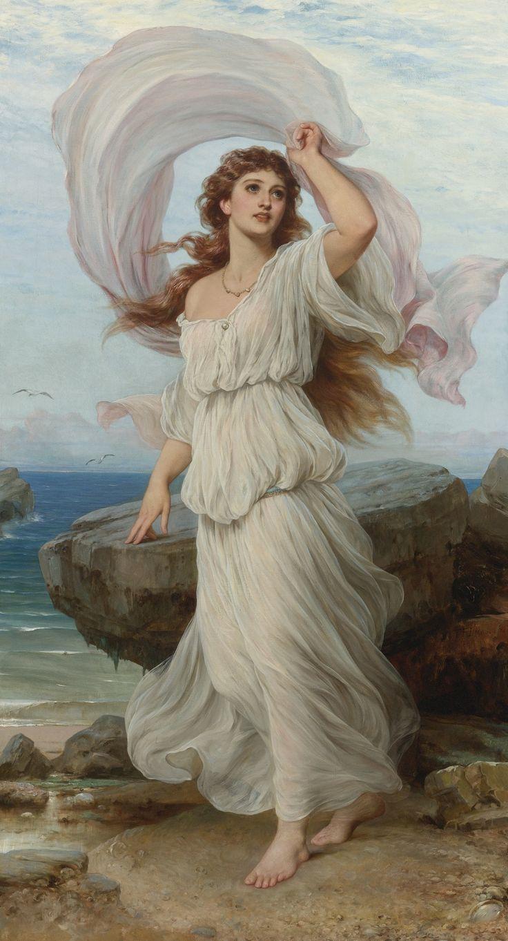 Miranda by Thomas Francis Dicksee, 1895