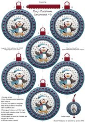 Easy Christmas Ornament  5 on Craftsuprint - View Now!