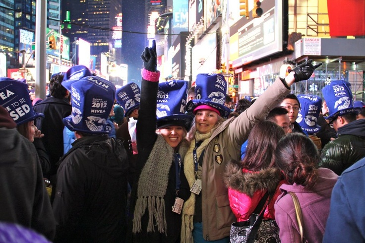 NYE in NYC with Ames