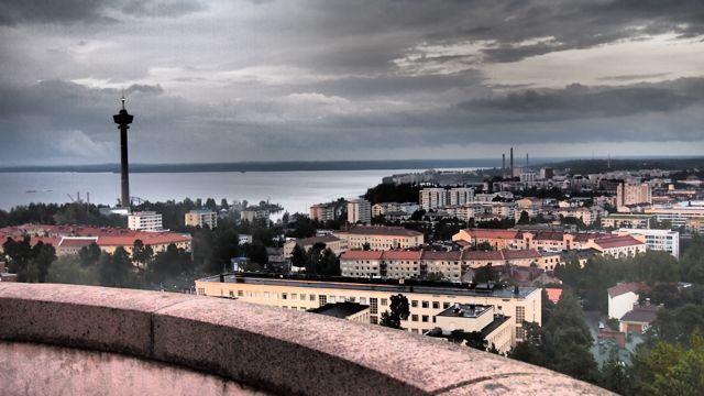 Näsinneula from Pyynikki Tower, Tampere, Finland. #tampereblog #tampereallbright