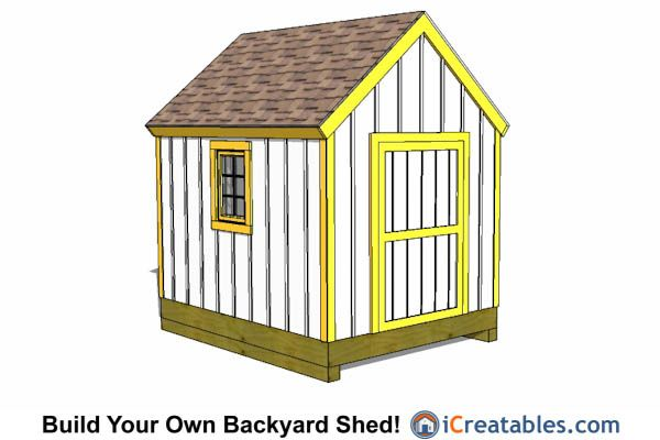 17 best images about 8x10 shed plans on pinterest lean for Cape cod shed plans