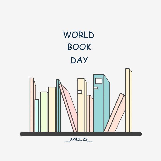 عناصر كتاب يوم القراءة العالمي يوم القراءة العالمي عناصر الكتاب هندسي Png وملف Psd للتحميل مجانا World Reading Day Reading Day Reading