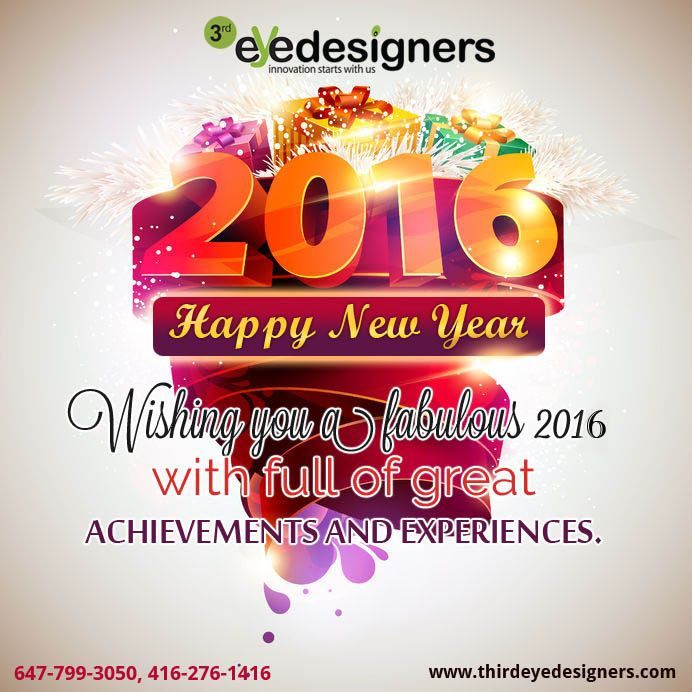 Wishing you a #fabulous 2016 with full of #great #achievements and #experiences. HAPPY NEW YEAR!!