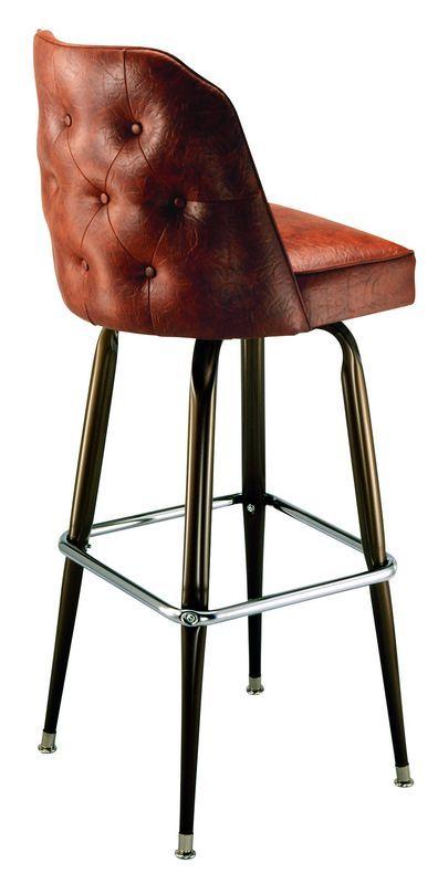 Bar Stool - 1435 | Swivel Bar Stools | Restaurant Bar Stools | Bucket Bar Stools