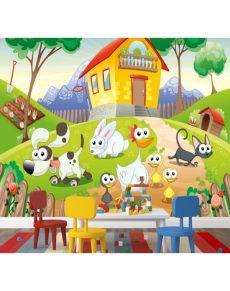 Çocuk Odası Hayvan Çiftliği Poster