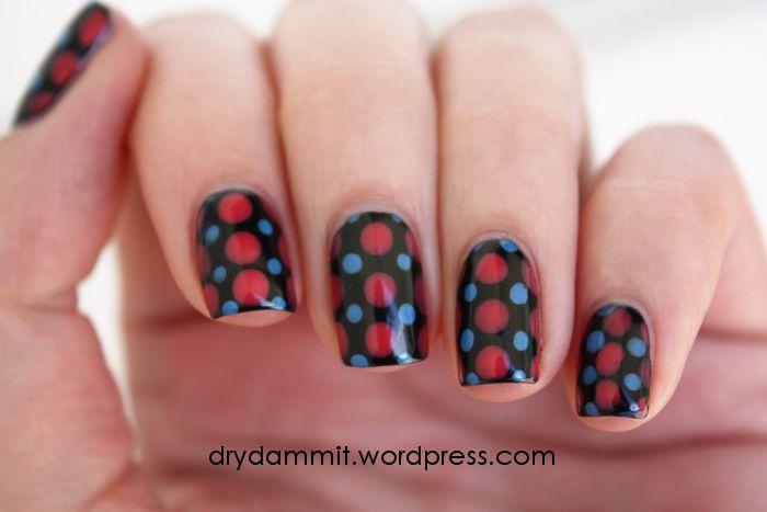 Born Pretty Store dotting nail art by Dry, Dammit!