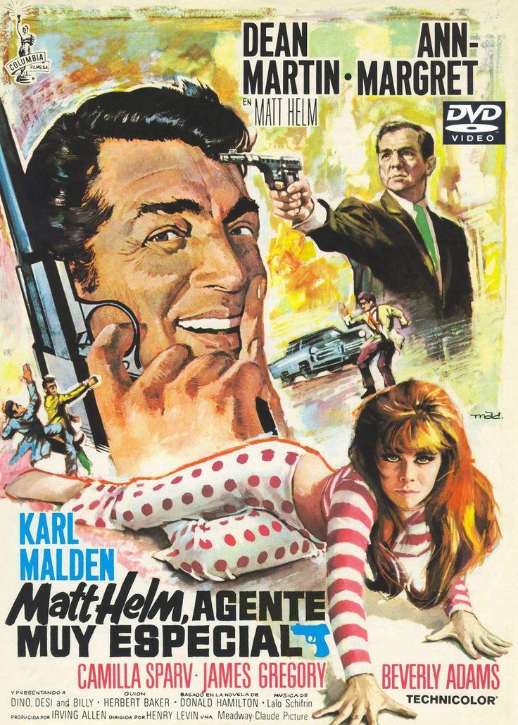 cine sinopsis y peliculas para descargar : Matt Helm - Agente muy especial (1966) Accion  El agente Matt Helm debe encontrar y salvar al profesor Norman Solaris, inventor de un rayo incendiario del que se quiere apropiar un....