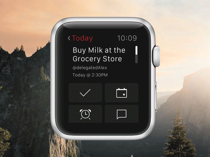 Today Task (Apple Watch Concept) by Alex Muench