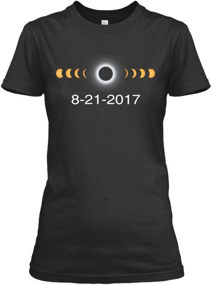 Solar Eclipse August 21 2017 T Shirt  Circle Total Solar Eclipse 08/21/2017 T-shirt. August Eclipse T-Shirt. The Great USA Solar Eclipse. Total Circle Solar Eclipse of the Sun August 21 2017 T Shirt. #solareclipse #sun #august21 #eclipse #mooneclipse #solarpath #solar #summer #augusteclipse t-shirt. #UnitedStatessolareclipse Total Black Solar Eclipse. #students #teacher #2017TotalSolarEclipse #sun #supermoon #space #science #moon #usa #tshirt #us #america #eclipseenthusiasts #diamondring