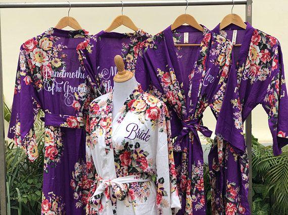 lilac bridesmaid robes - 570×427