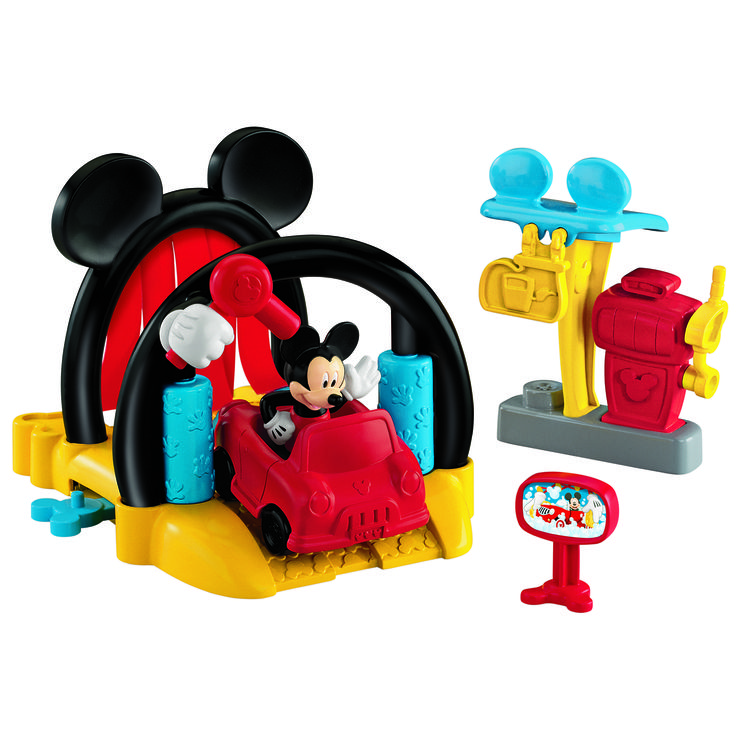 Set de joaca Disney Mickey Mouse, Spalatorie de masini