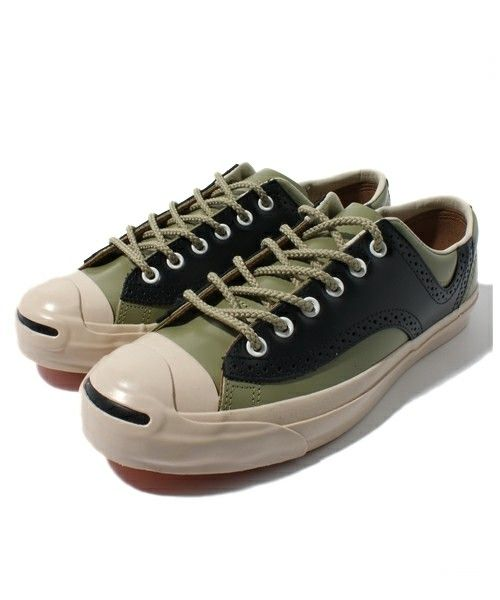 CONVERSE(コンバース)のJACK PURCELL RLY SADDLE LEATHER(スニーカー) 詳細画像