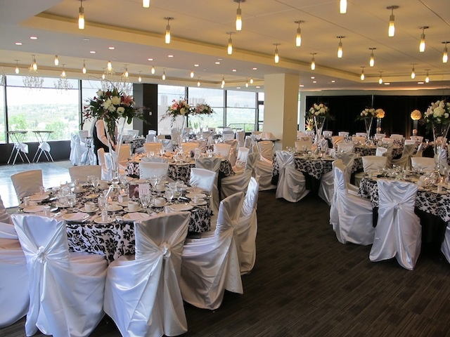 Our Famous Riverview Room Decorated Beautifully For A Wedding Reception Dream Wedding