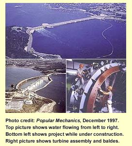 Pictures of La Rance Tidal Station