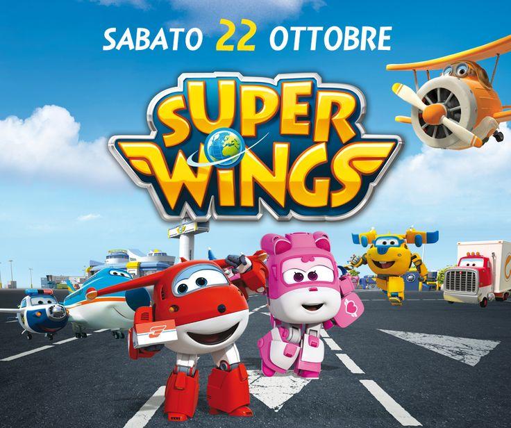 Sabato 22 Ottobre ti aspetta un appuntamento speciale con Jet e Dizzy, per un pomeriggio super divertente! Dalle 11 alle 13 e dalle 15 alle 19 passa a trovare i Super Wings!