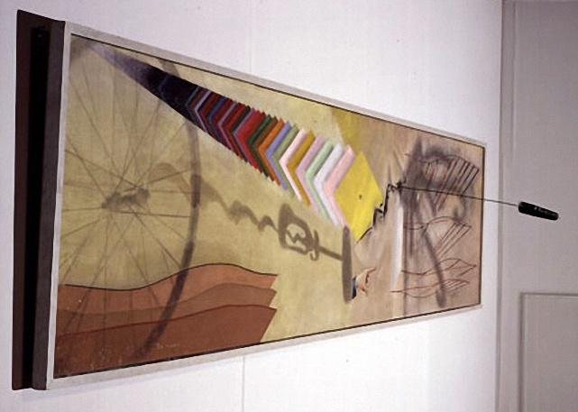 Marcel Duchamp • Tu m' (1918)