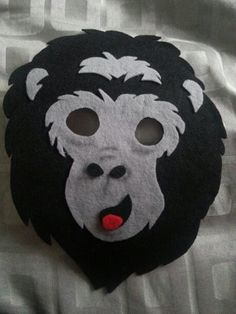 Gorilla mask!
