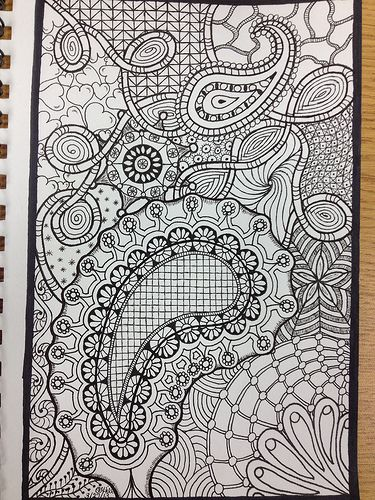 Doodle Art -- Paisleys and such by PLHill