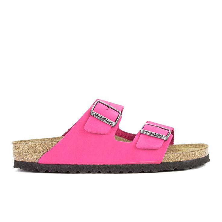 Buy Birkenstock Women's Arizona Slim Fit Suede Double Strap Sandals - Pink here at The Hut. We've got top products at great prices including fashion, homeware and lifestyle products. Free delivery available