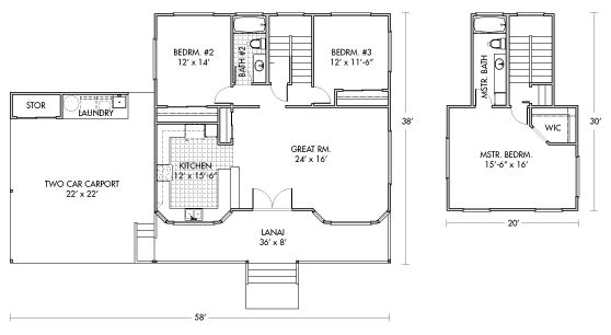 Hpm Paia Packaged Home Floorplan Hawaii Pinterest Home