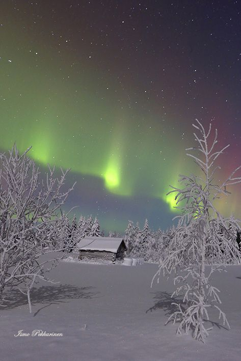 Revontulet Joensuu Heinävaara tammikuu,Northern Lights Joensuu Heinävaara Finland january.Photo Ismo Pekkarinen. #finland #luonto #auroraborealis #talvi #maisema #nature #northernlights #winter #landscape #joensuu