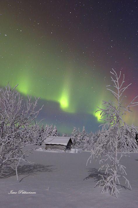 Revontulet Joensuu Heinävaara tammikuu,Northern Lights Joensuu Heinävaara Finland january.Photo Ismo Pekkarinen. #finland #luonto #auroraborealis #talvi #maisema #nature #northernlights #winter #landscape #joensuu