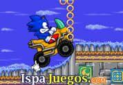 Sonic Quatro. Juego de sonic, maneja este carro, con mucho cuidado por este nuevo mundo de sonic y acumula todos los puntos que puedas, lo complicado es manejar el auto de sonic http://www.ispajuegos.com/jugar5772-Sonic-Quatro.html
