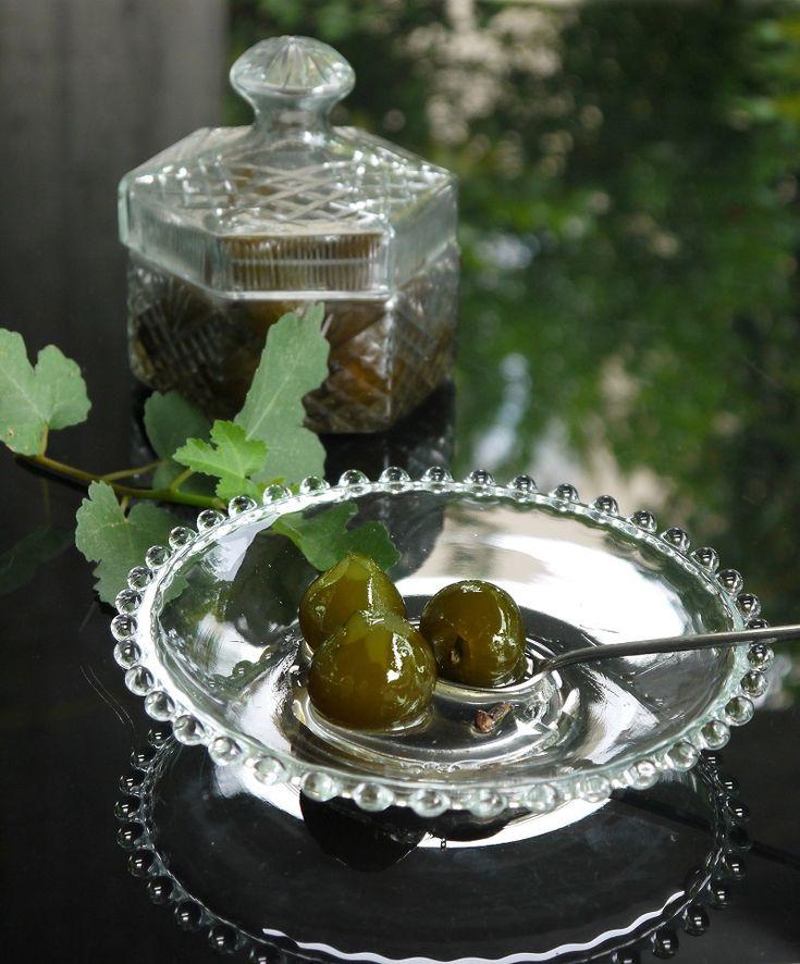 σύκο γλυκό του κουταλιού παραδοσιακό