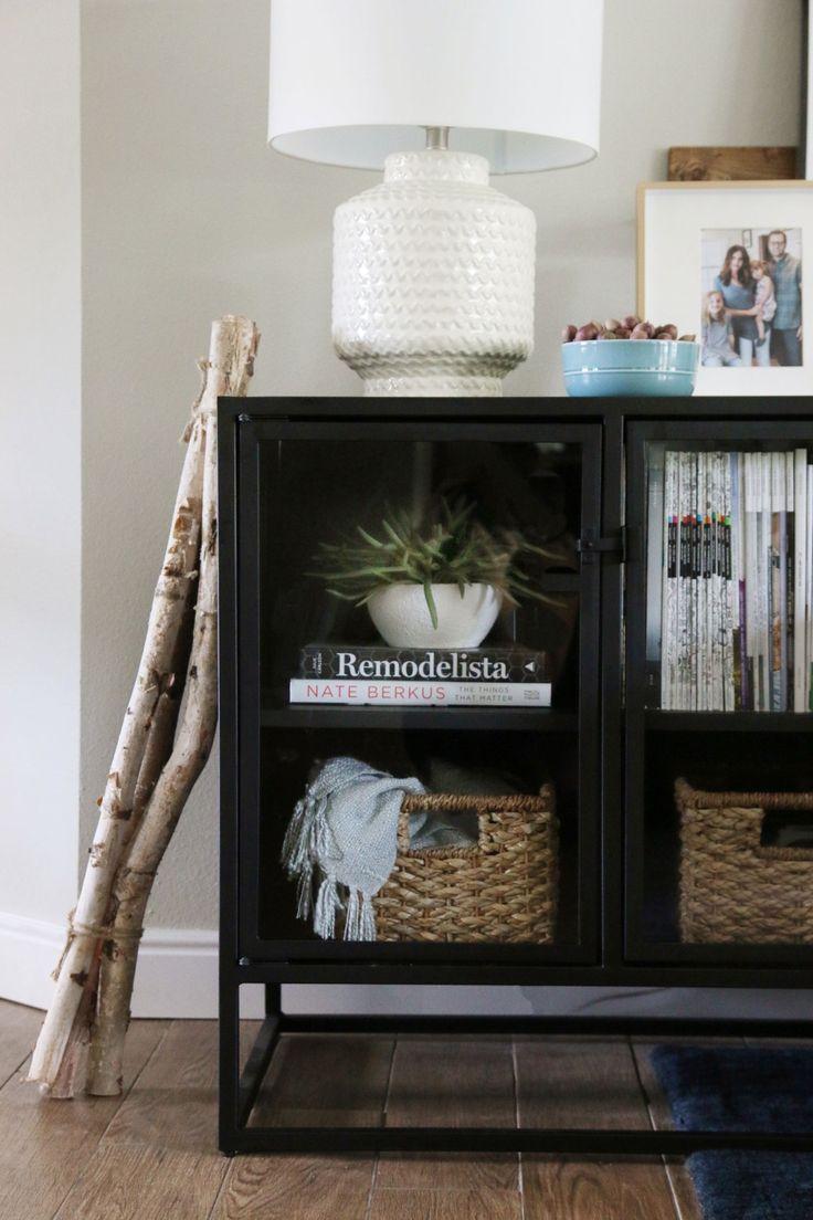 Living Room Fall Decorating Ideas