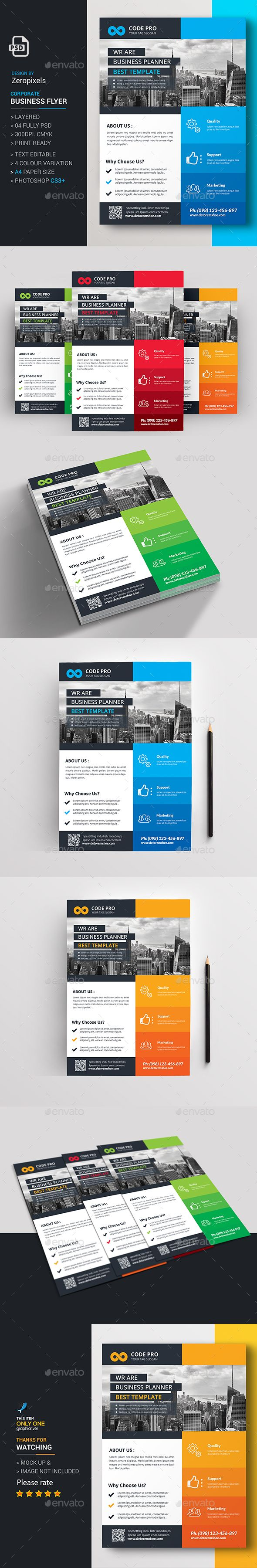 Corporate Business Flyer Design Template PSD. Download here: http://graphicriver.net/item/corporate-business-flyer/16386516?ref=ksioks