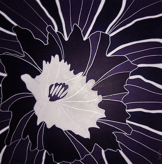 Herstein.eu   -    Flowers, acrylic, painting by Herstein