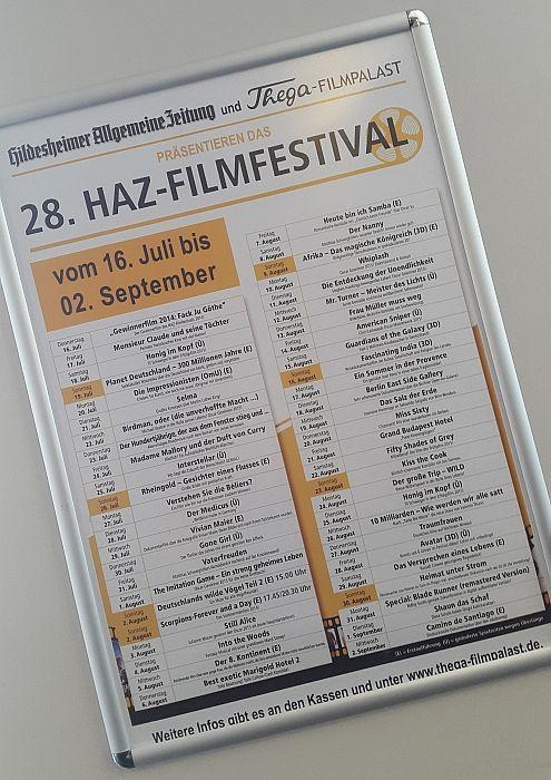 Nicht vergessen: Das 28. HAZ-Filmfestival ist noch in vollem Gange. Erlebt die lustigsten, schönsten, spannendsten und rührendsten Filme der letzten Monate noch einmal auf der großen Leinwand! Infos & Tickets: http://www.thega-filmpalast.de//index.php?show=sond_S8&week=0&sonderr=8 #thega #filmpalast
