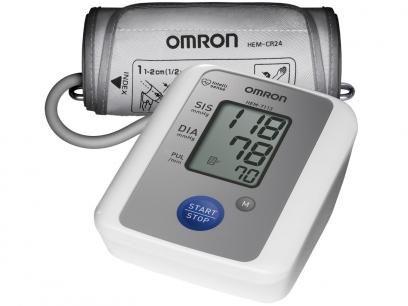 Aparelho Medidor de Pressão Arterial Digital - de Braço - Omron HEM 7113 com as…