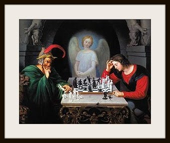 Satan may try to get us in checkmate but through Christ we ...