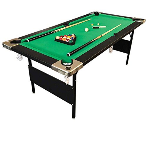 Billiard Pool Table 6' Feet Portable Snooker Accessories included Game COLORADO | Foosball And Pool Tables