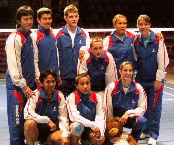 Champion of France League 2010 - Cynthia Tuwankotta
